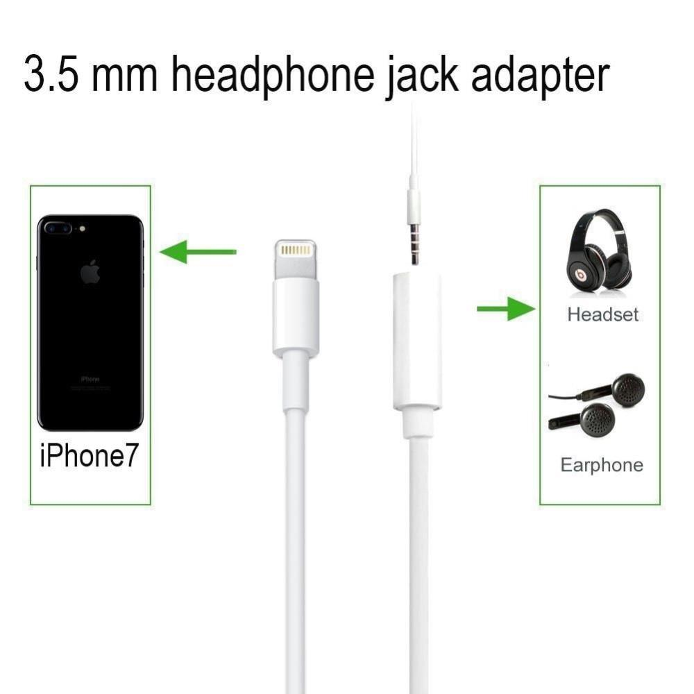 I769 iPhone 7/plus  Original Lightning to 3.5mm Earphone audio adapter - i-s-mart.com | No.1 Branded Online Shop in Cambodia