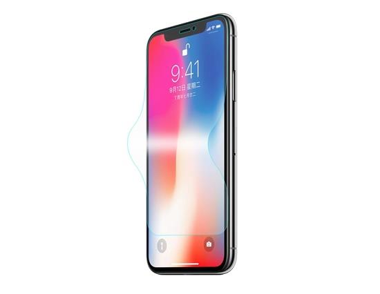 i1011 Soft Edge 3D Full Screen Tempered glass for iPhone X - i-s-mart.com | No.1 Branded Online Shop in Cambodia
