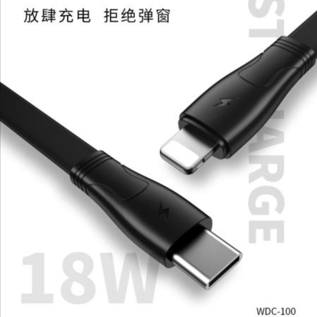 WDC-100 PD 18W Fast Charging Data Cable