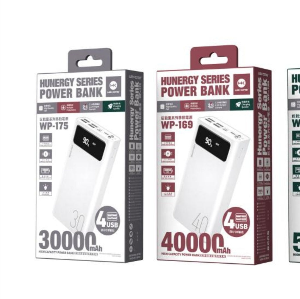 WP-169 Hungry Series Powerbank 40000mAh