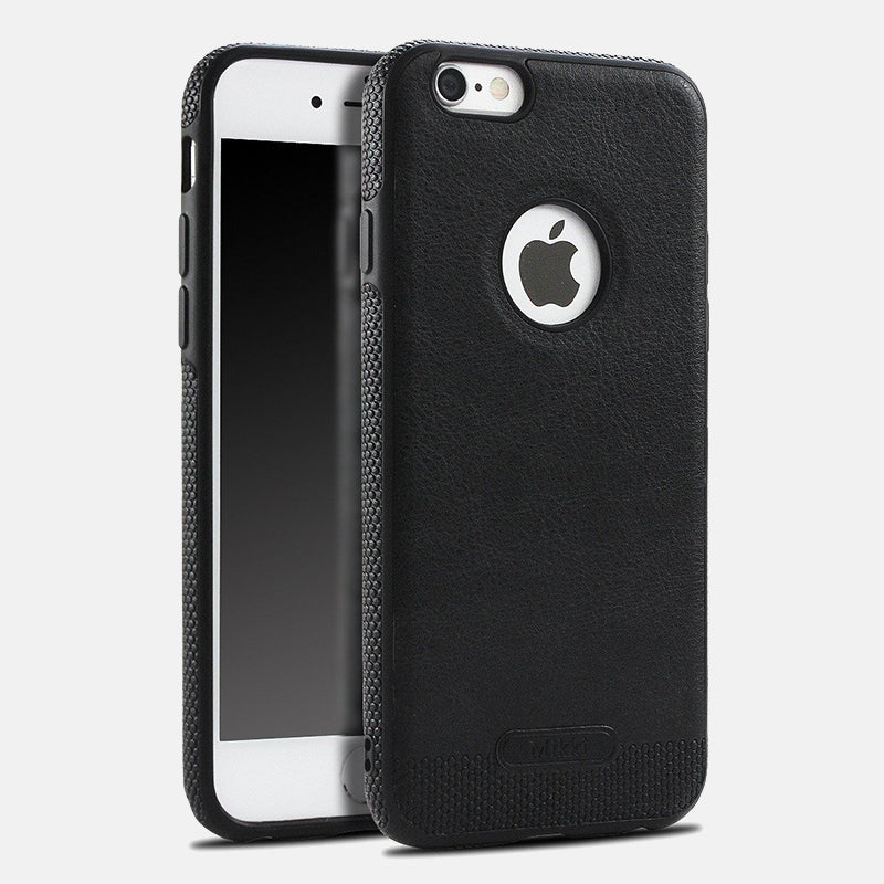i771 Leather Stitching Soft Shell Case for iPhone 6/6s, 6 Plus/6s Plus, 7, 7 Plus - i-s-mart.com | No.1 Branded Online Shop in Cambodia