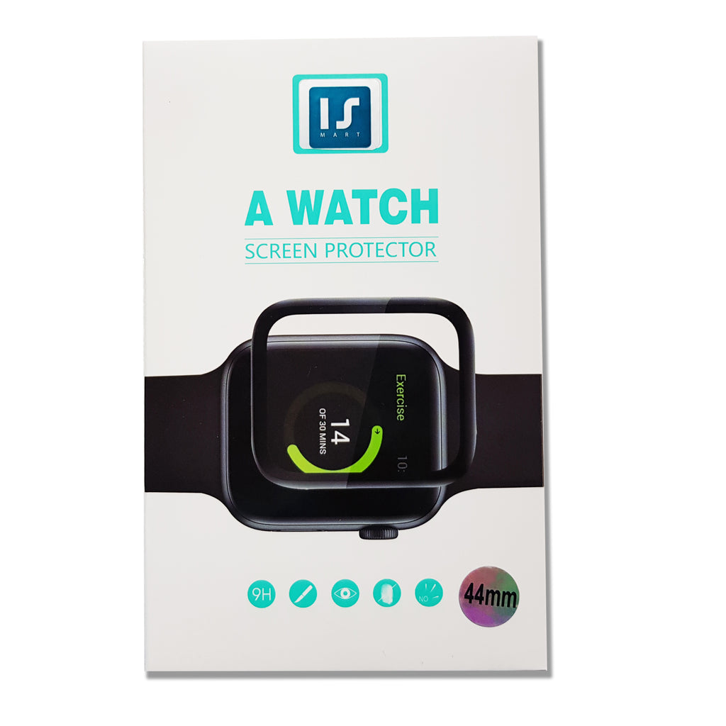 i1081  3D Curved Full Screen Tempered Glass for Apple Watch - i-s-mart.com | No.1 Branded Online Shop in Cambodia