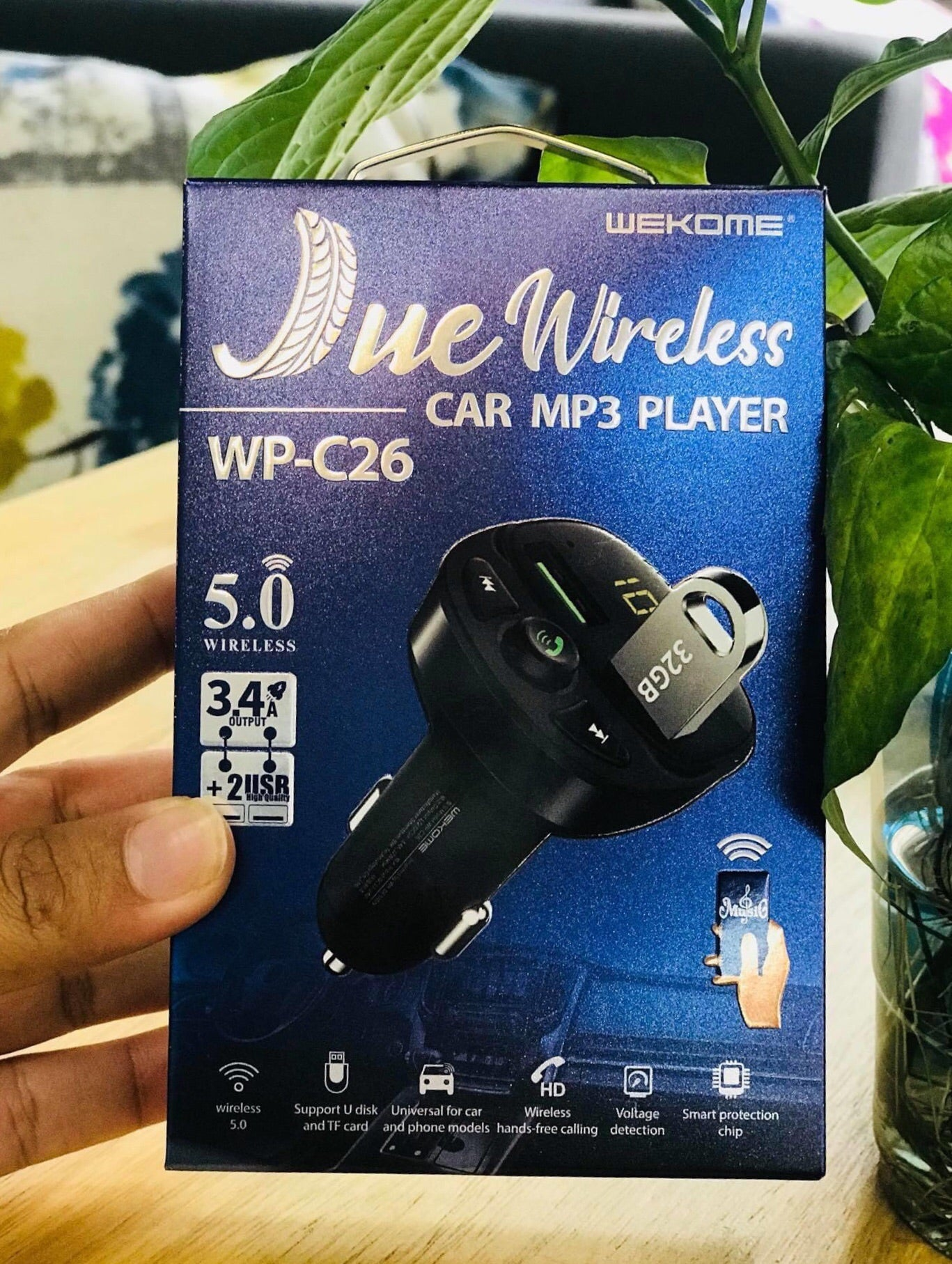 WP-C26  JUE MP3 Player Wireless Car Kit