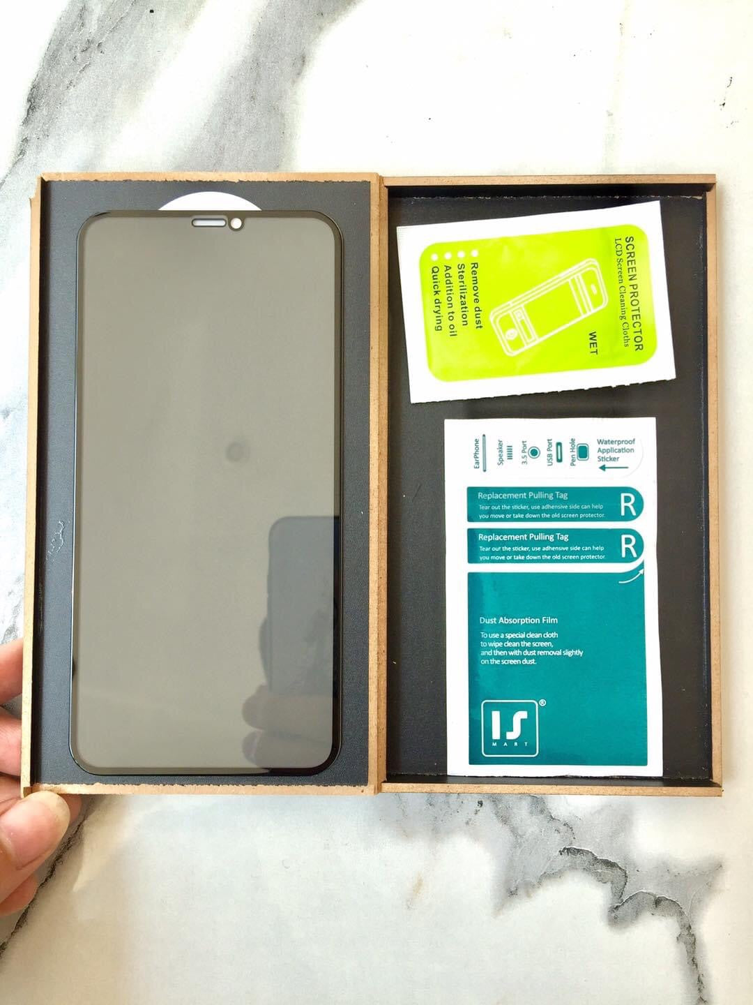i319P ISMART Japan Temper Glass Private for iPhone