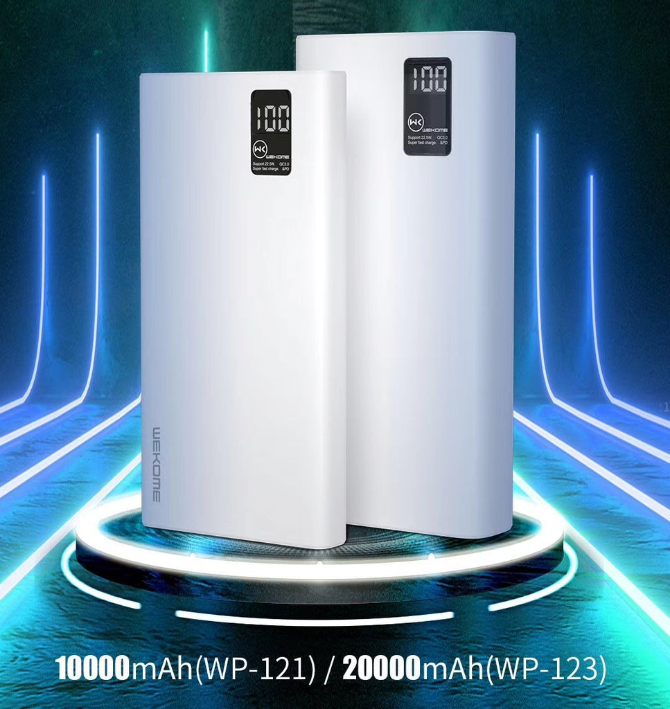 WP-123 Powerbank 20000mAh PD+QC 22.5w