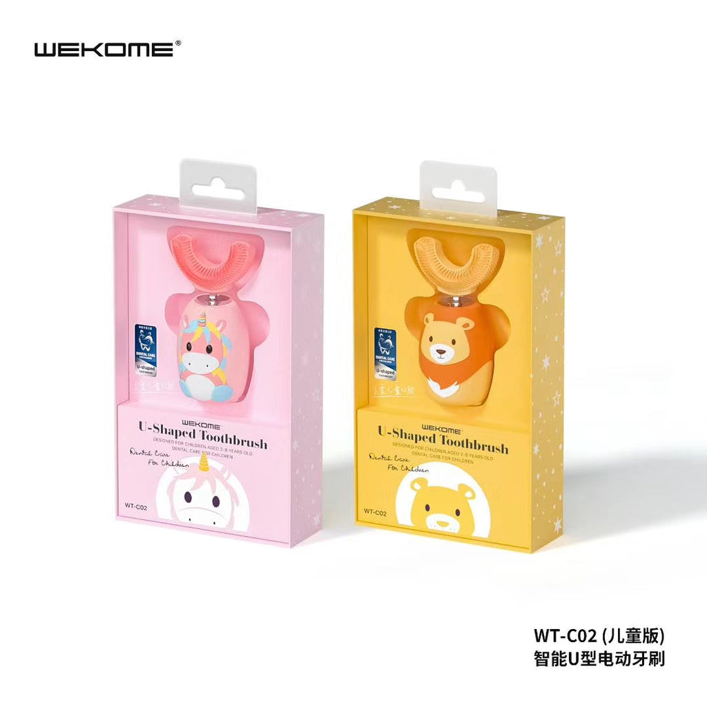 WT-C02 U-Shaped Toothrush for Children