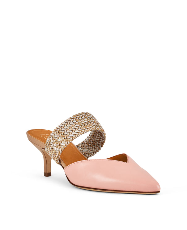 Maisie 45mm - Peach Nappa