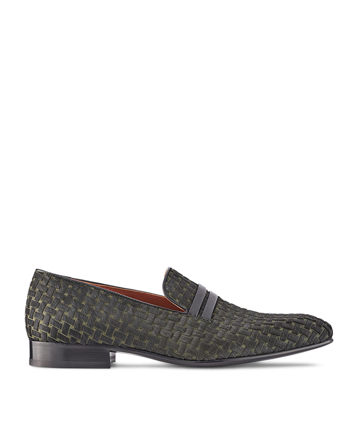 MILES - Embossed Calf Hair Loafers