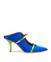 Maureen 70mm - Electric Blue Satin