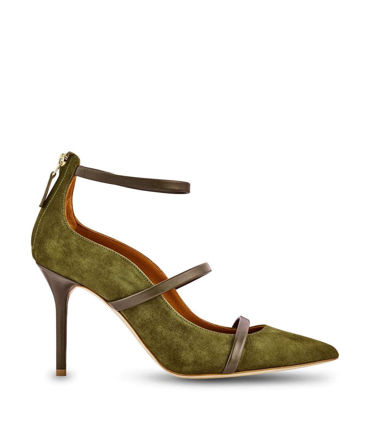ROBYN 85mm - Moss Suede Nappa