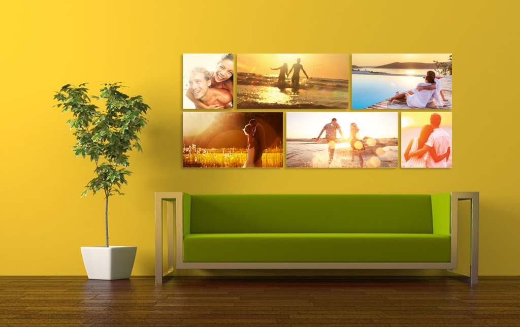 Wall Displays With Frames H3