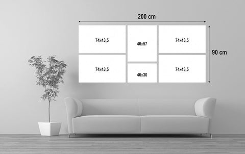 Wall Displays With Frames H1