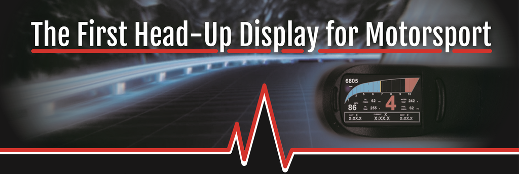 Heads Up Display for Motorsport