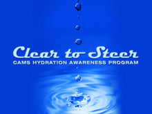 CAMS clear to steer hydration awareness program