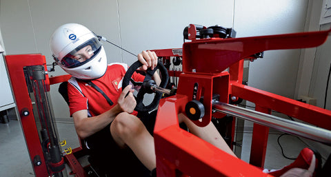 race car driver fitness training