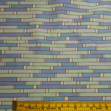 Blue Uptown Backsplash by Makower