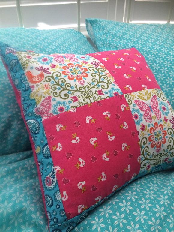 Mini - Patchwork cushion - Stage four