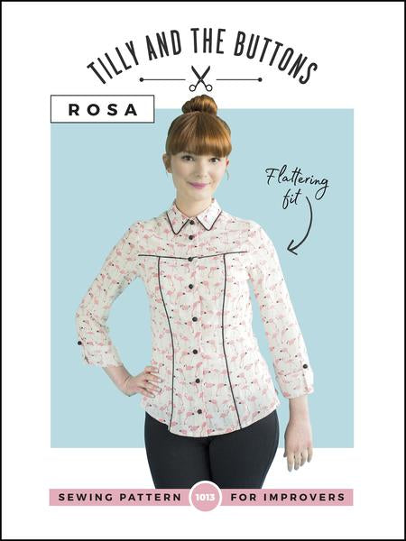 Rosa shirt and Shirt Dress - Tilly and the Buttons