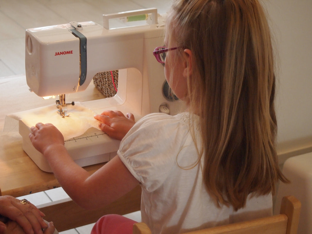 1-to-2 Adult and child introduction to sewing