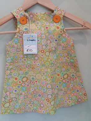 Girls Pinafore Dress 12 months