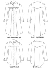 Load image into Gallery viewer, Rosa shirt and Shirt Dress - Tilly and the Buttons