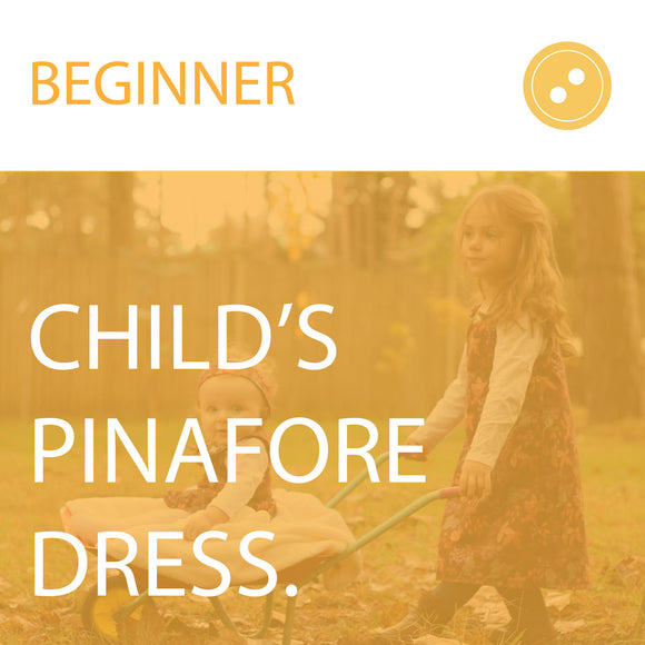 Child's Pinafore Dress