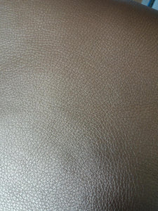 Faux Leather Bronze