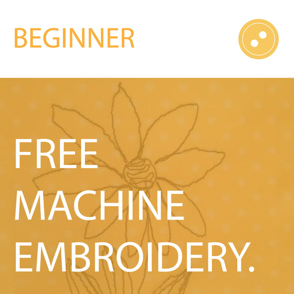 Free Machine Embroidery