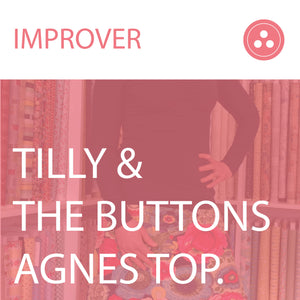 Making a Jersey Top - Agnes by Tilly and The Buttons