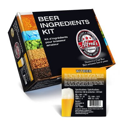 Alfred's Witbier Recipe Kit