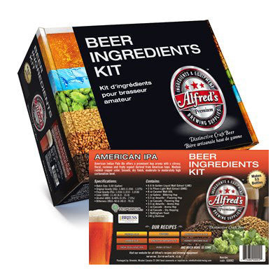 Alfred's American IPA Recipe Kit