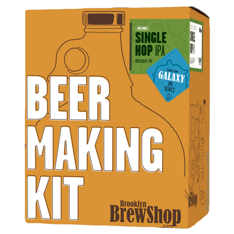 Brooklyn Brewshop Beer Making Kit: Galaxy Single Hop IPA
