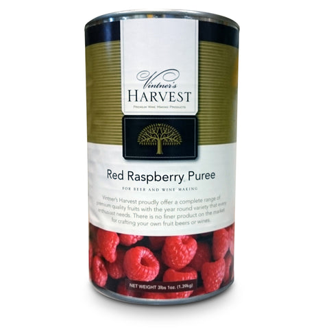 Vintner's Harvest Red Raspberry Puree, 49 oz.