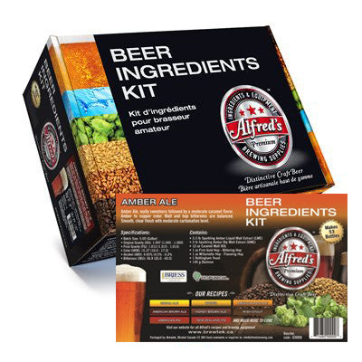 Alfred's American Amber Ale Recipe Kit