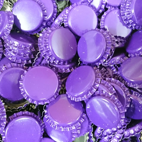 Crown Bottle Caps, Purple