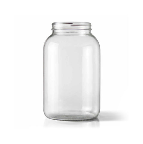 1 Gallon Wide Mouth Glass Jar