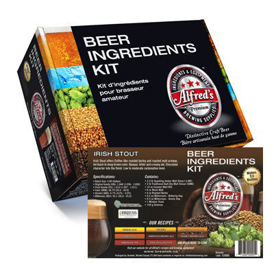 Alfred's Irish Stout Recipe Kit