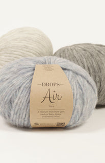drops air mix alpaca merino knitting yarn