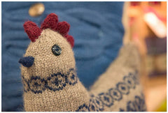 knitting kit for cute hen