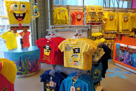 Spongebob section