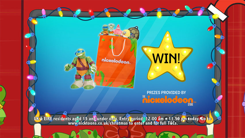 Nicktoons Christmas Competition