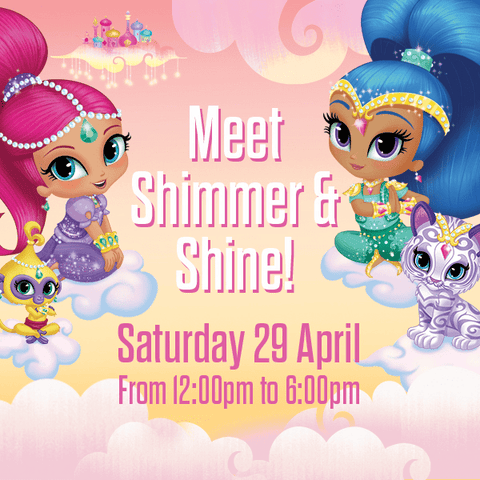 Meet Shimmer & Shine at The Nickelodeon Store in Leicester Square