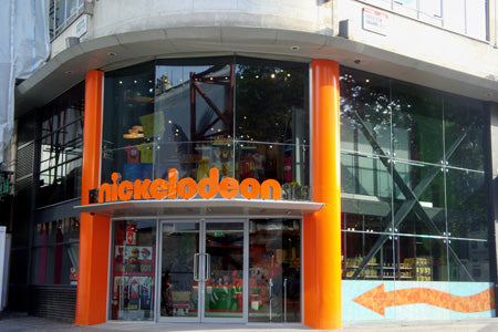 The Nickelodeon Store London front