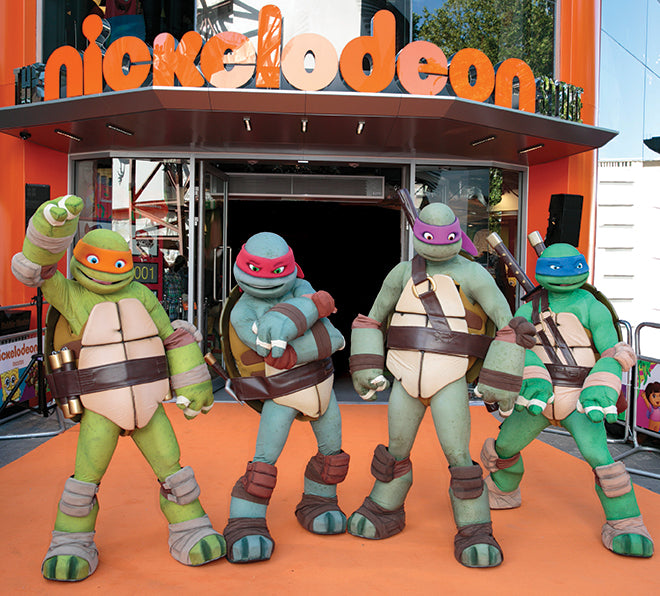 Teenage Mutant Ninja Turtles at Store Opening Event