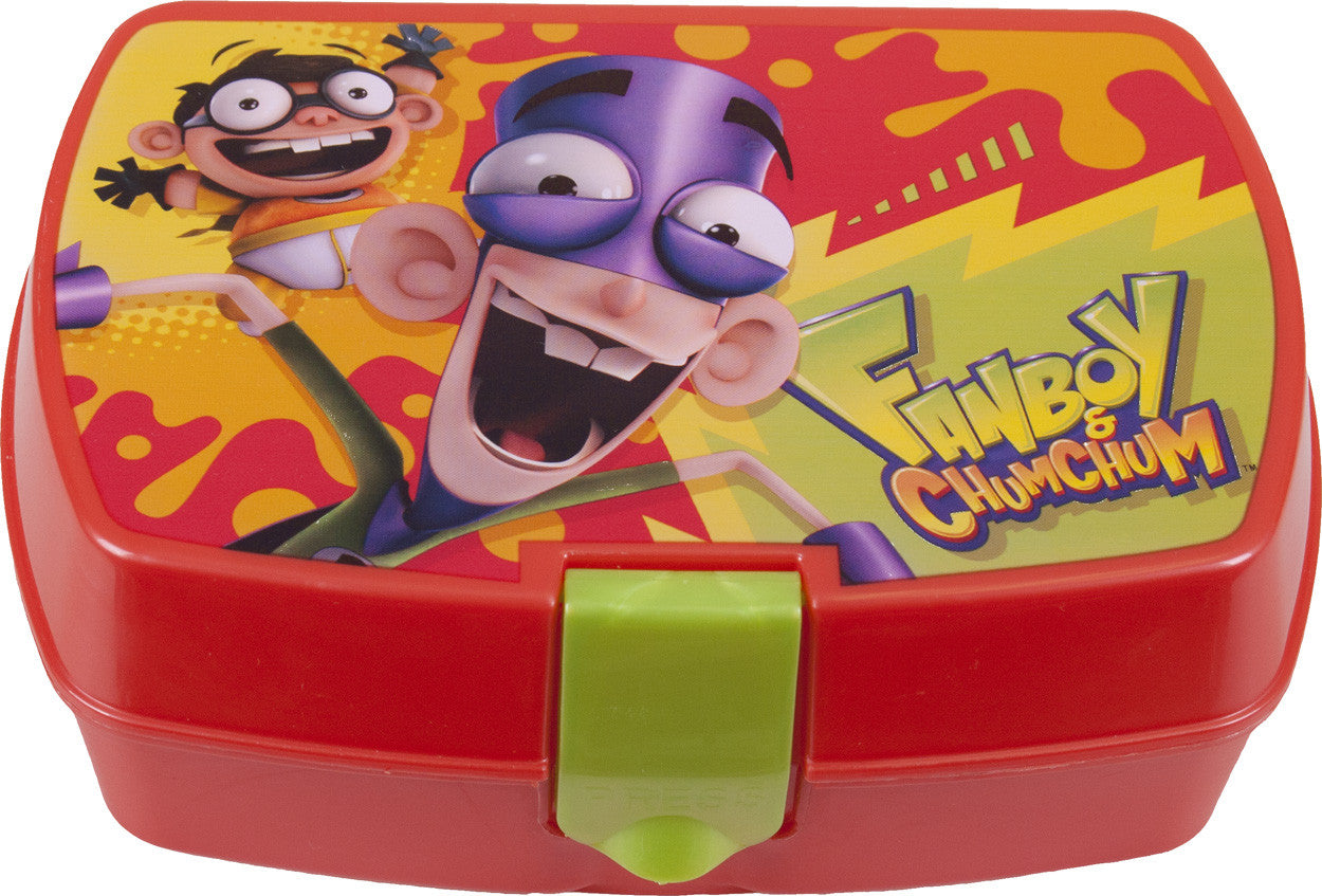 Fanboy & Chum Chum Snack Container - nickelodeonstore.co.uk