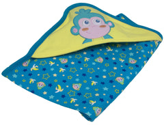 "Dora The Explorer ""Baby Boots"" Blanket - nickelodeonstore.co.uk"