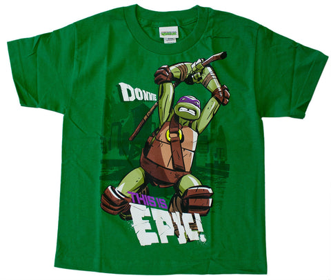 "Teenage Mutant Ninja Turtles Donatello ""This Is Epic"" Tee - Youth"