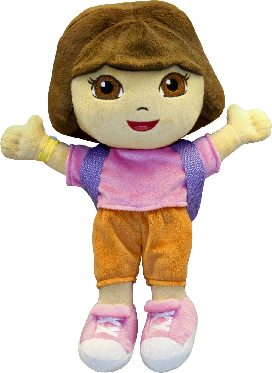 "Dora The Explorer 12"" Plush Doll - nickelodeonstore.co.uk"