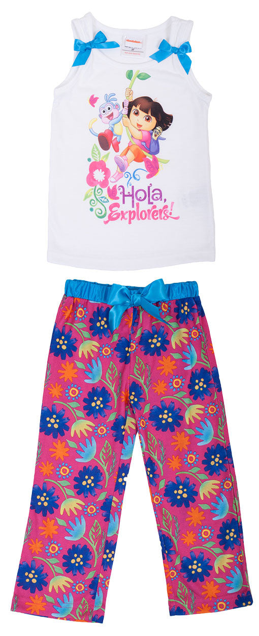 Dora The Explorer 2pc PJ Set - Toddler - nickelodeonstore.co.uk