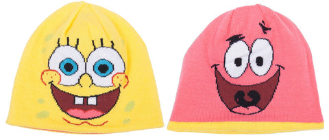 SpongeBob SquarePants Reversible Knit Hat - Adult